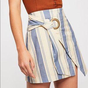 NWT Free People Tuscan Sunrise Skirt size 4